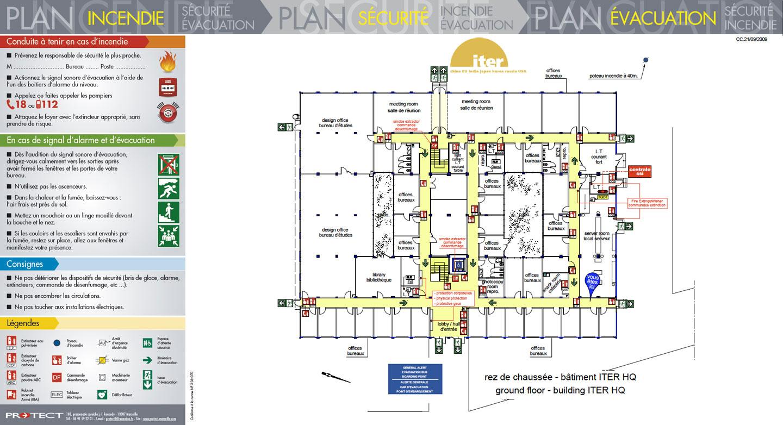 Plan d vacuation plan d intervention protect marseille for Les plans de batiment